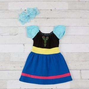 Other - Frozen Inspired Anna Boutique Character Dress